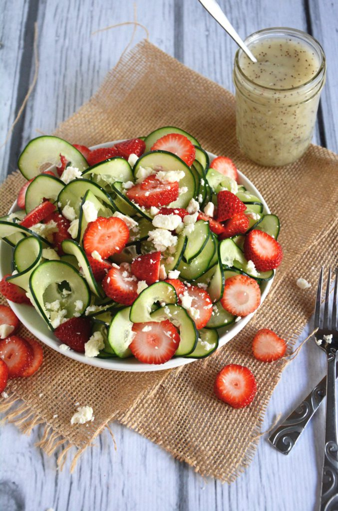 Cucumber and Strawberry Delight
