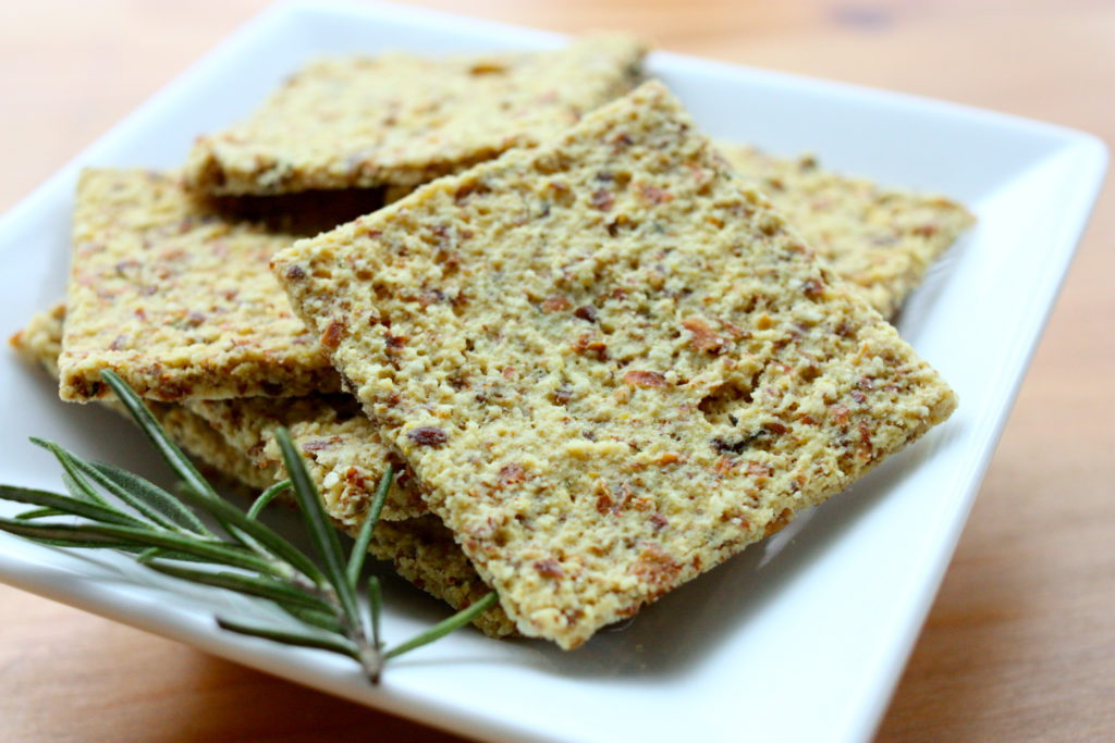 Almond Crackers Recipe