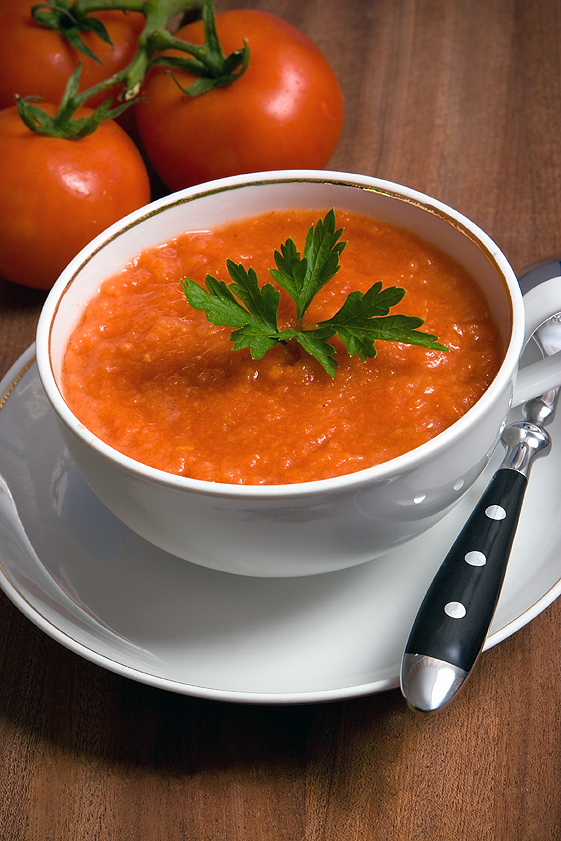 Raw Tomato Soup Recipe