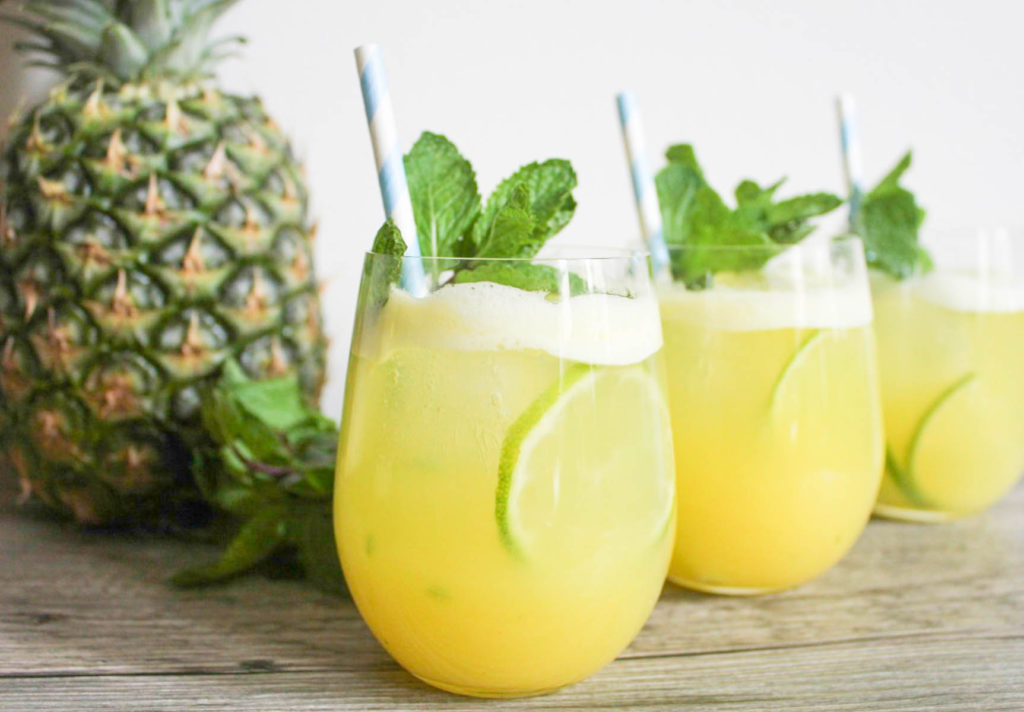 zesty citrus juice